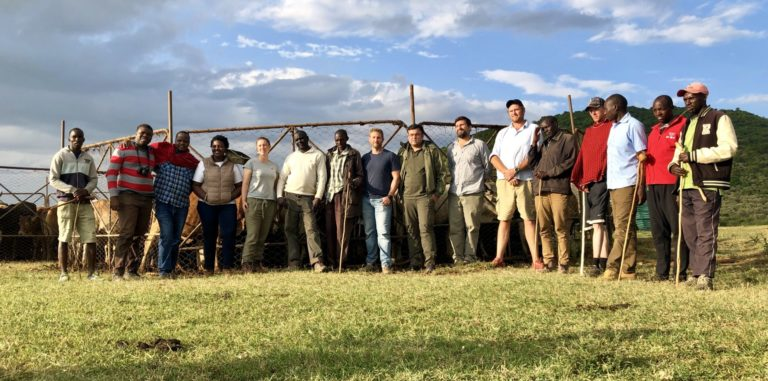 Kenya 2019 Holistic Management training group