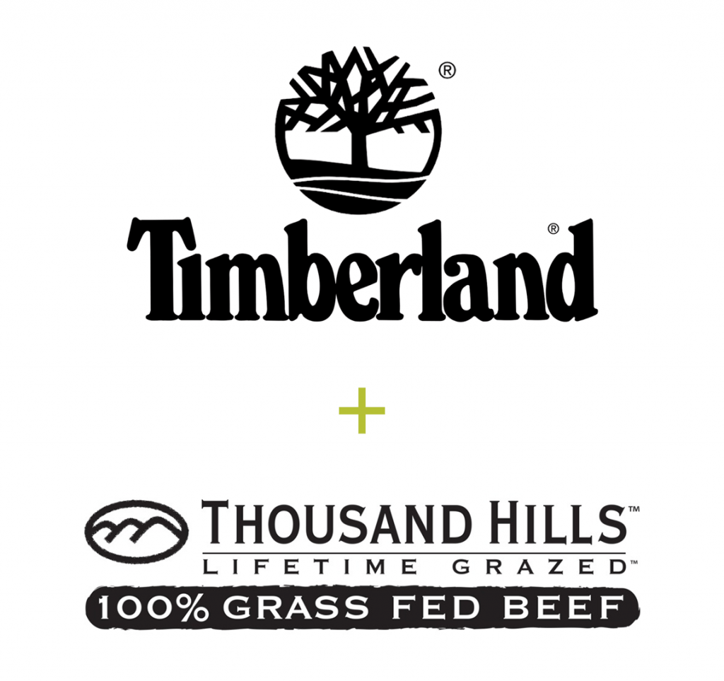 Timberland and THLG logos