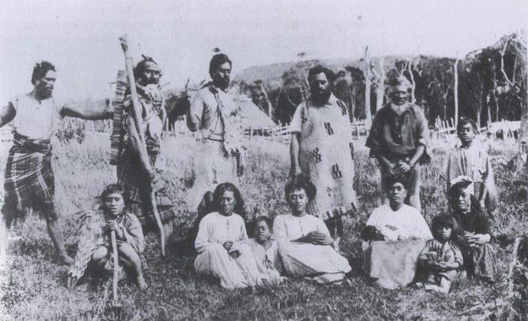 Moriori people of the Chatham Islands in New Zealand